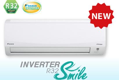 แบบติดผนัง SUPER SMILE  INVERTER -R32