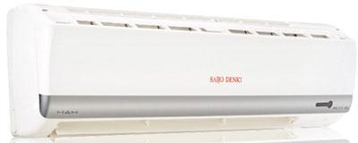 เครื่องปรับอากาศ SAIJO DENKI  inverter sure r32}r410a