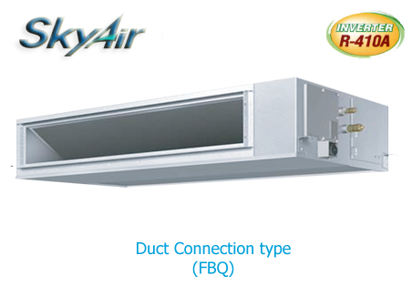 Middle Static Duct  Inverter แบบต่อท่อลมแรงดันปานกลาง  R-32